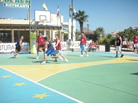 TORNEO DI BASKET » DIVERTIRSI AL PINETA BEACH